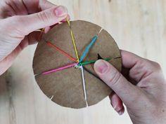 Flettet bånd med sju tråder – Hva skal vi lage