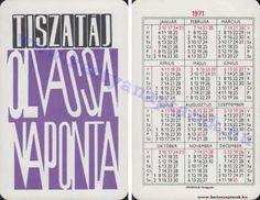 1971 - 1971_0515 - Régi magyar kártyanaptárak