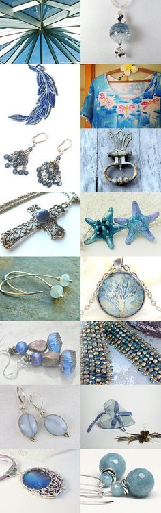 Summer Blues! by Allison and Sheryl on Etsy--Pinned with TreasuryPin.com