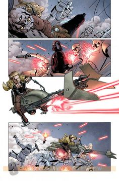 Star Wars #2 interior art (3/3) by John Cassaday *