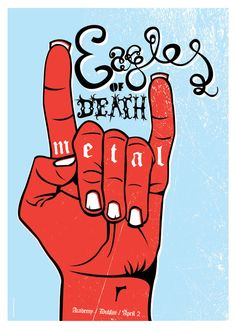 Eagles of Death Metal by Gav Beattie