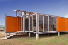 Even if you're not a shipping container enthusiast, it's hard not to like the price tag on this beautiful home in Costa Rica. By using recycled shipping containers and doing some of the work themselves, the owners were able to keep the final cost of the home down around $40,000.