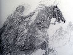 """guardtristan: """" """" The Lord of the Rings Sketchbook - by Alan Lee ISBN 9780261103832 """" other LOTR/Hobbit Sets here """" Hobbit Tolkien, Hobbit Art, O Hobbit, Lotr, Alan Lee, Gandalf, Legolas, Art Graphique, Middle Earth"""