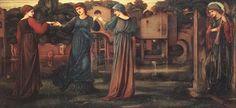 The Mill by Sir Edward Burne-Jones :: artmagick.com