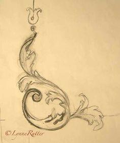 Pencil design sketch...