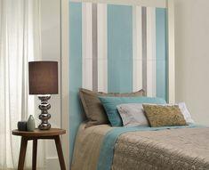 Ideas para hacer cabeceros originales y baratos – 15 ejemplos Cabeceros de papel pintado o de pared