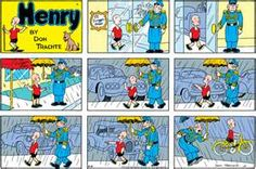 henry classic comic strip-sunday funnies