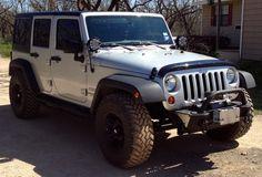 Jeep JK Unlimited 33 inch tires no lift