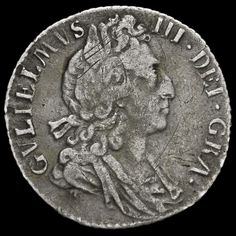 1697 William III Early Milled Silver Sixpence