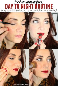 easy day to night makeup tips