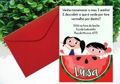 Convite Luna - Incluso convite impresso e envelope Lindo convite personalizado para o seu evento! Elaboramos em outros tamanhos e desenvolvemos outros temas, consulte! Pedido mínimo: 10 unidades