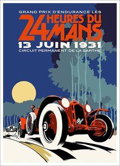 Art deco Alfa Romeo Le Mans 1931 poster – Sport is lifre Alfa Romeo, Vintage Advertisements, Vintage Ads, Vintage Posters, Grand Prix, Ferdinand Porsche, Garniture Automobile, Poster Cars, Poster Poster