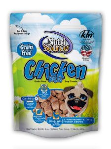 Nutrisource Soft & Tender treats. USA made, corn free, soy free, & wheat free!