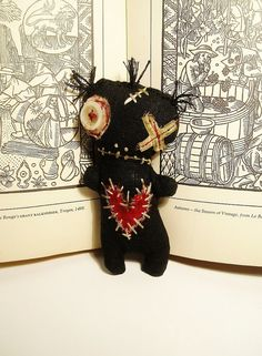 Handmade Art Doll  Baby Voodoo by JunkerJane on Etsy