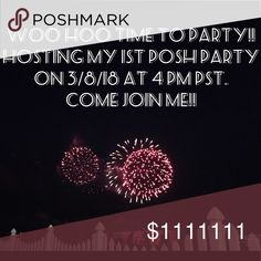 My 1st Posh Party 3/8/18 Everything Kids Party! THRILLED to share that I am hosting my first Poshmark party on 3/8/18 4 PM PST (7 PM EST). Please join me! 😀 🍾 🎉 🍷 🎂🍹🍰🥂🍇☕️🎁😀 Looking for Host Picks from Compliant Closets ONLY. 👀 THEME: EVERYTHING KIDS PARTY!! I'll also be giving a special shout out to Poshmark Mentors! 👩‍🏫 If you had an amazing mentor who helped you get started, share their closet name below. Check out my amazing mentor's closet: @frannyzfinds PLEASE SHARE W…