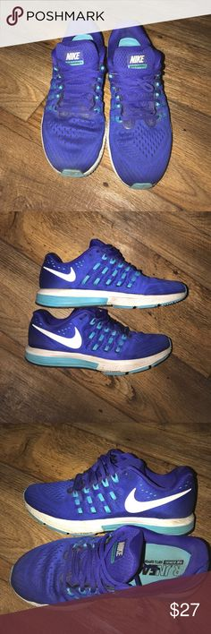Men's Nike zoom🌴🌴🌴 Decent pair of Nike zoom tennis shoes for men. Used but in good condition.size 9 Nike Shoes Athletic Shoes