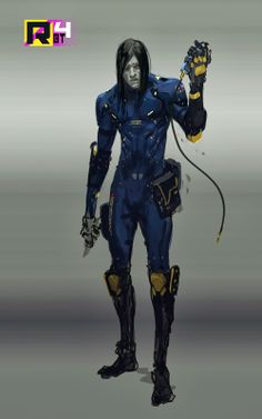 The ongoing war against mediocrity: Sweet Ride Bro! Character Concept, Character Art, Concept Art, Character Design, Character Reference, Cyberpunk Character, Cyberpunk Art, Space Suit Costume, Cyber Ninja