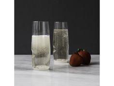 Govino Plastic Picnic Champagne Glasses, Set of 4 Champagne Glasses, Carafe, Pint Glass, Picnic, Bubbles, Plastic, Tableware, Design, Dinnerware