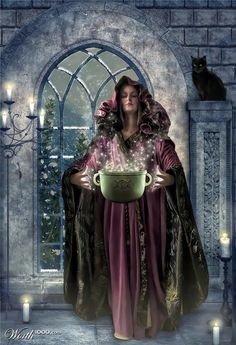 Cerridwen: Keeper of the Cauldron Crone of Wisdom: In Welsh legend, Cerridwen represents the crone, which is the darker aspect of the goddess. She has powers of prophecy, and is the keeper of the cauldron of knowledge and inspiration in the...