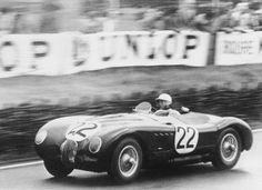 The Jaguar C Type in 1951 captures Jaguar's first victory at the 24 hours of LeMans.