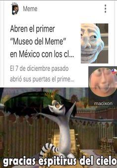 el 7 de diciembre fue uno de los mejores días Best Memes, Dankest Memes, Funny Memes, Jokes, All The Things Meme, Spanish Memes, Reaction Pictures, Kawaii Anime, Funny Photos