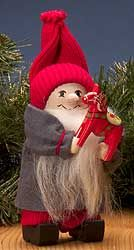 Swedish Tomte with Traditional Dala Horse