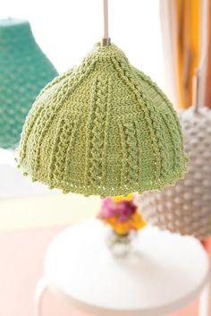 Crochet Seashell Lamps - IKEA Hackers - IKEA Hackers