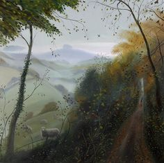November Afternoon - Towards Win Green - Nicholas Hely Hutchinson