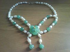 collana perle e pietre dure