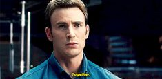 """Thought you and Tony were still gazing into each other's eyes… """"Steve looking at Tony in Avengers: Age of Ultron """" She Is Fierce, Reaching For The Stars, Age Of Ultron, Georgia Bulldogs, Daredevil, Steve Rogers, Chris Evans, Marvel Universe, Captain America"""