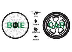 bicycle vs car的圖片搜尋結果
