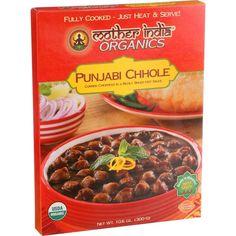 Mother India Organic Punjabi Chhole 10.6 Oz Case Of 6