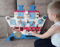 Busy Board ship Toddler Gift Kids Presents от PaintingTatyana