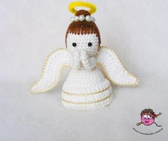 (4) Name: 'Crocheting : Amigurumi - Crochet Angel Pdf Pattern