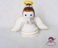 (4) Name: 'Crocheting : Amigurumi - Crochet Angel Pdf Pattern