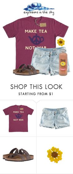 """""""~explosions in the sky~"""" by flroasburn ❤ liked on Polyvore featuring H&M, Birkenstock and Hansen"""