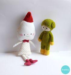 muñecos artesanales amigurumilandia