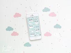 [GRAPHIC] Pimp my phone: free wallpaper april 2016 by Le Petit Rabbit