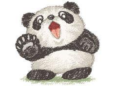Surprized panda2
