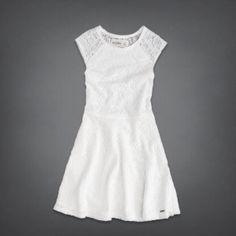 girls lace skater dress | girls dresses & rompers | abercrombiekids.com