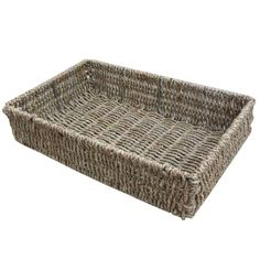 Seagrass Storage Baskets | Empty Hamper Baskets Trays