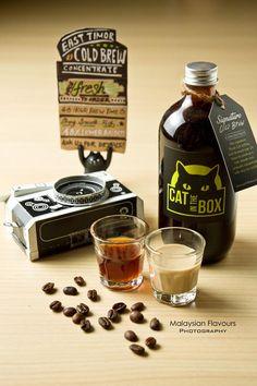 Signature Black Cat Cold Americano. #coffee #cafe #americano #coldbrew #latte
