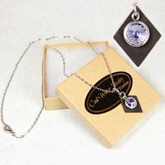 Mountain Lupine Long Necklace Cool Water Jewelry NC200-148