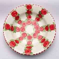 umaima Teller, Plates, Tableware, Red, Green, Tablewares, Licence Plates, Dishes, Dinnerware