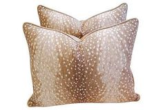 Try a Trend | One Kings Lane - love an antelope pillow - perfect for your living room or bedroom!