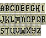 Mini Letter Panels
