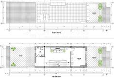 Thiết kế nhà phố 4 tầng diện tích 5,1×22m phong cách Tân cổ điển tại Hưng Yên Floor Plans, Diagram, Floor Plan Drawing, House Floor Plans