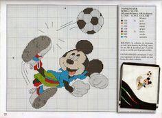 Disney: Mickey no Futebol em Ponto Cruz