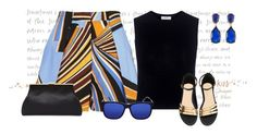"""""""Cobalt Blue for Summer"""" by gemique ❤ liked on Polyvore featuring Emilio Pucci, A.L.C., Gucci and Kenneth Jay Lane"""