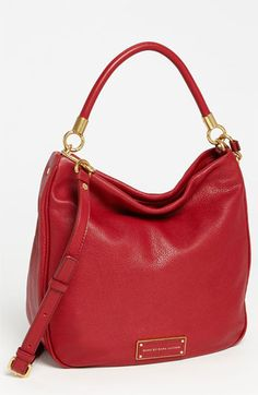 Hello Birthday present! I'll take black, please! MARC BY MARC JACOBS 'Too Hot to Handle' Hobo available at #Nordstrom